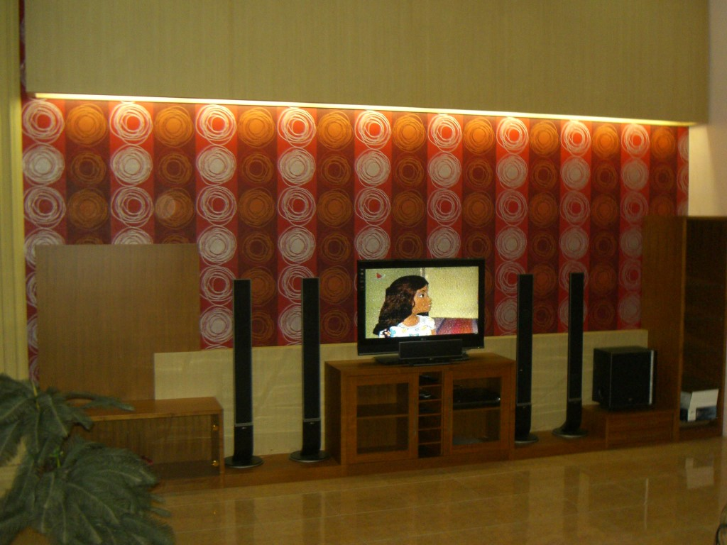 home theater display tv1
