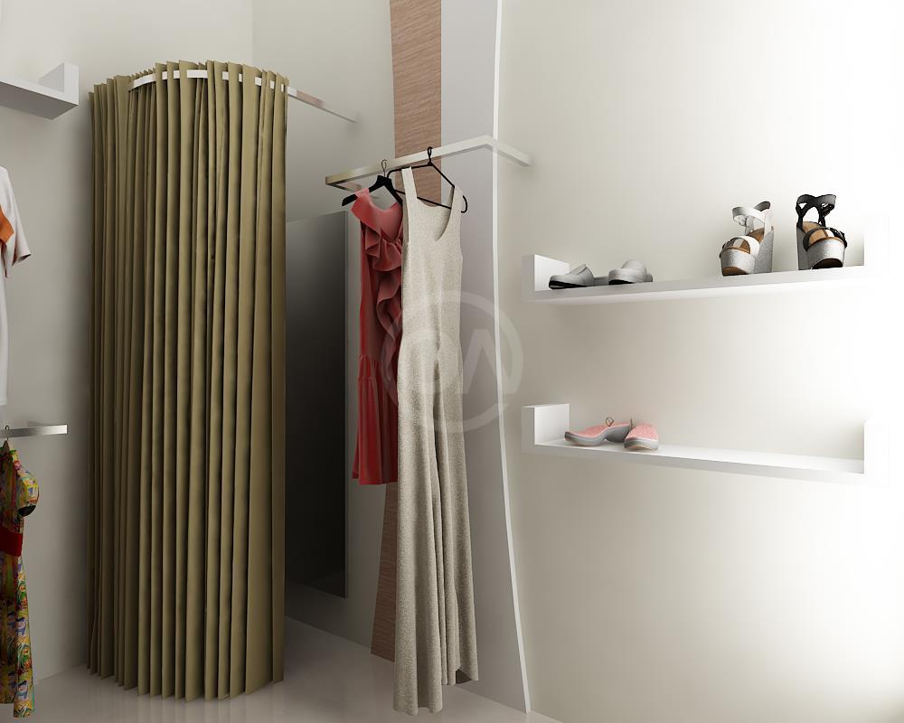 Desain interior butik