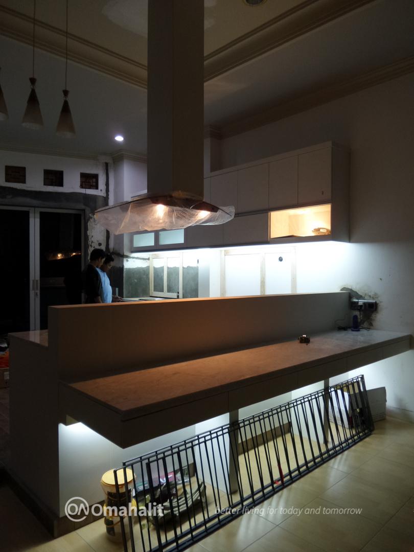 Jasa Renovasi Kitchen Set dan Ruang Keluarga