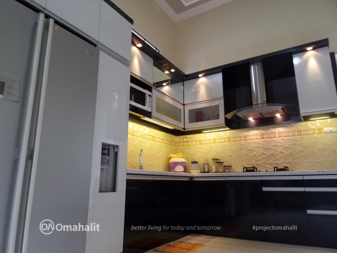 jasa desain kitchen set