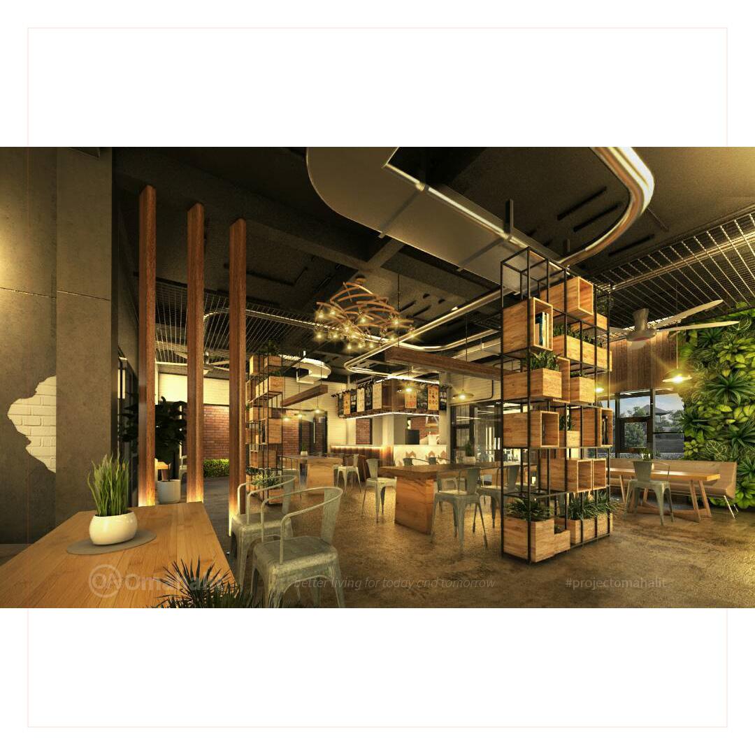 Jasa Desain interior Cafe Pemalang pekalongan tegal batang kendal semarang indoor area