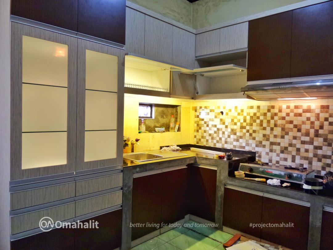 Jasa Pembuatan Kitchen Set di pekalongan