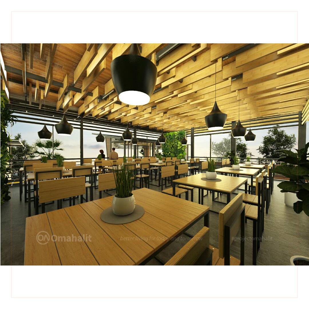 Jasa Desain interior Cafe Pemalang pekalongan tegal batang kendal lantai atas