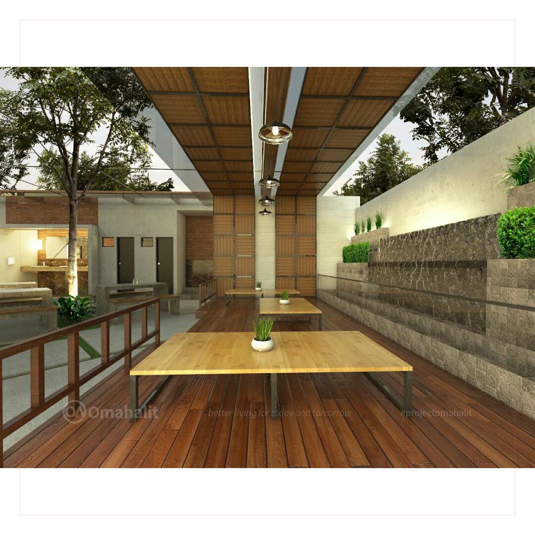 Jasa Desain Bangunan Cafe Pemalang pekalongan tegal batang kendal food area