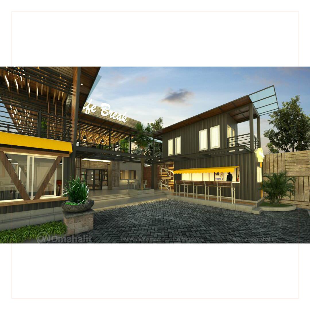 Jasa Desain Bangunan Cafe Pemalang pekalongan tegal batang kendal