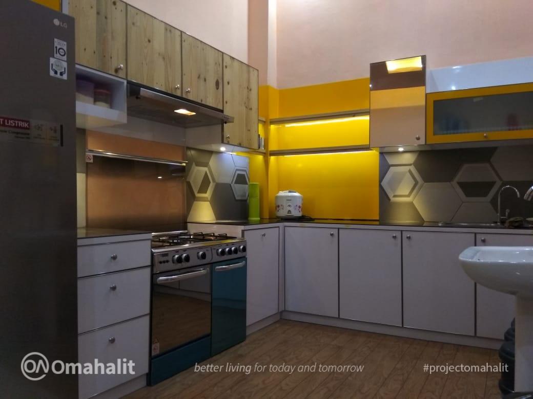 Pembuatan Kitchen Set di Pekalongan