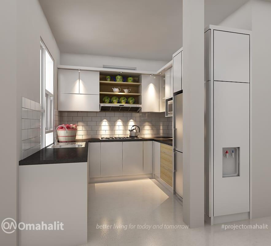 Pembuatan Kitchen Set Modern Minimalis di Pekalongan