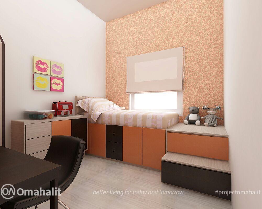 jasa desain inerior kamar tidur anak cewek