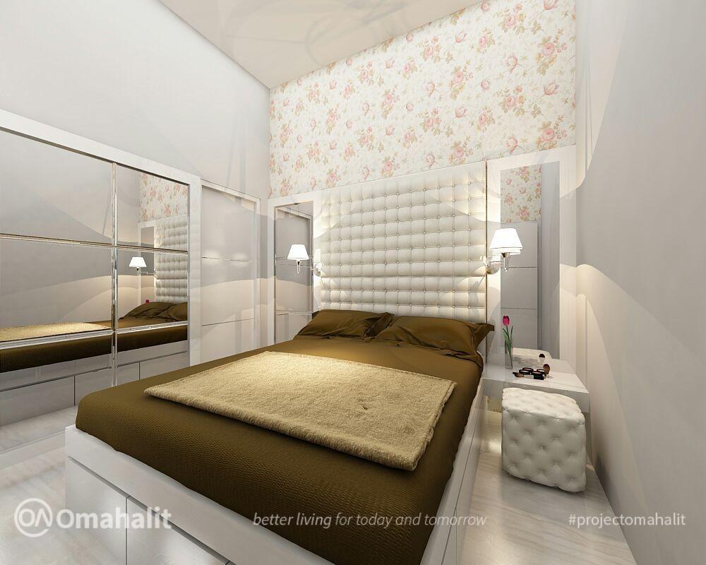 jasa desain inerior kamar tidur utama