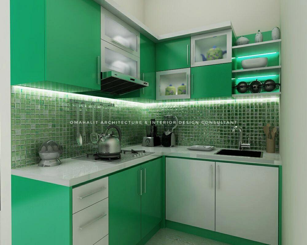 jasa pembuatan kitchen set di comal