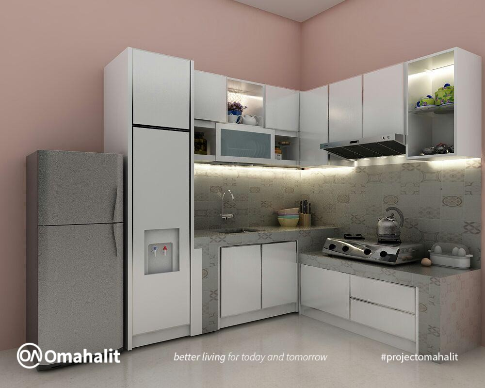 jasa pembutan kitchen set minimalis