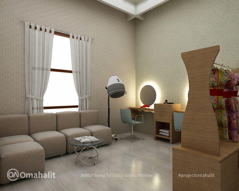 Jasa Desain Interior Salon Kecantikan