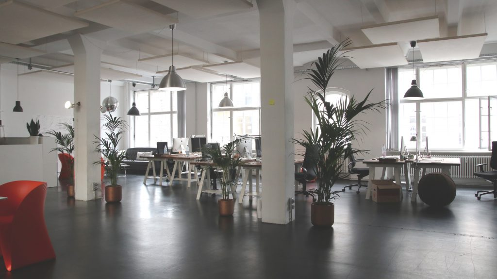 inspirasi desain interior kantor