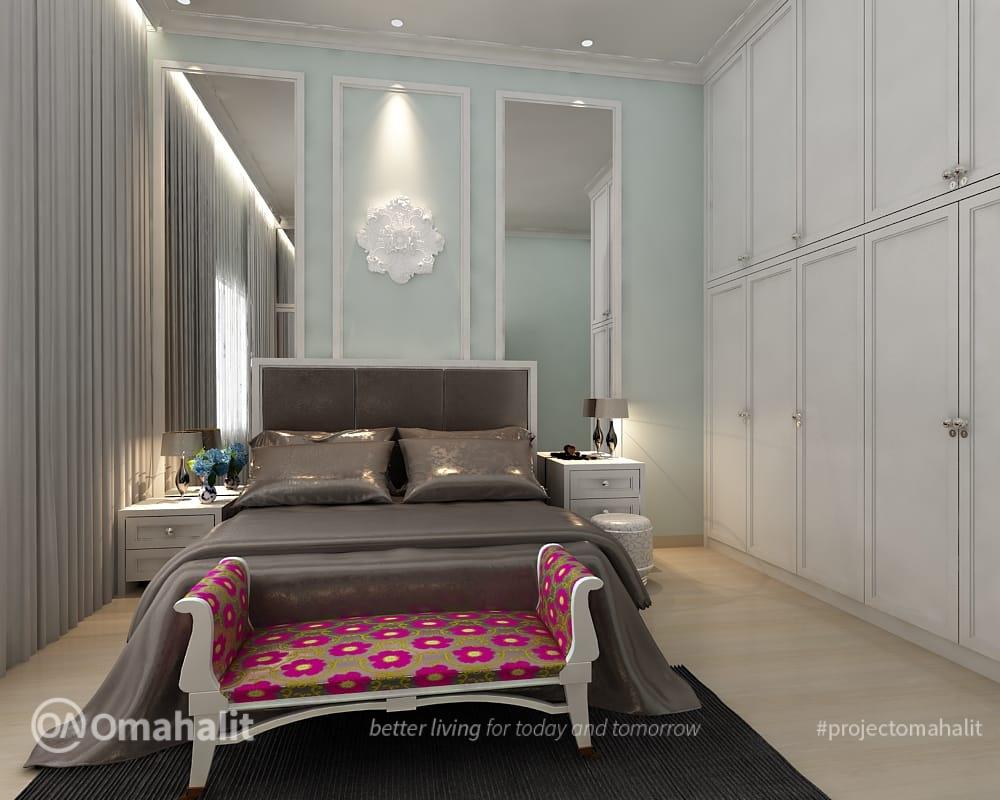 Jasa Desain Interior Hunian Semi Classic by Omahalit