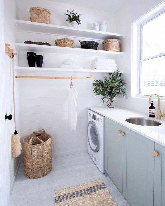 Tips Menata Ruangan Sempit Dengan Laundry Tersembunyi