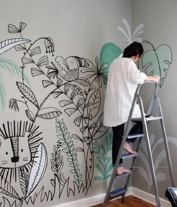 Tips Menghias Dinding Rumah Dengan Mural