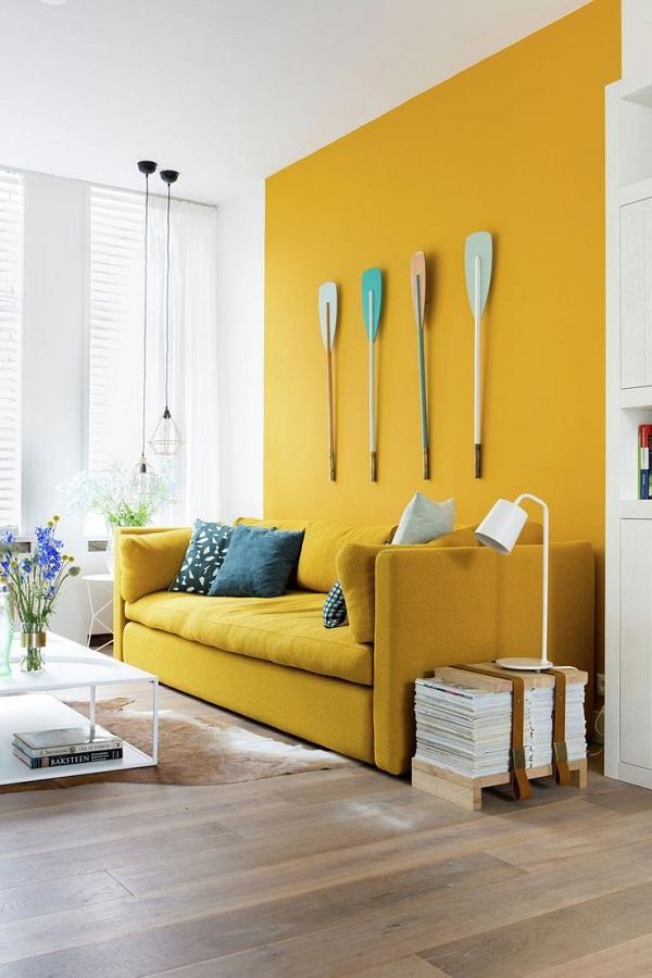 trend warna cat rumah mustard