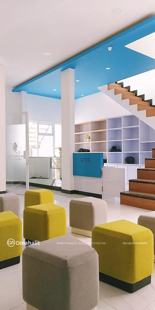 jasa desain interior klinik kecantikan