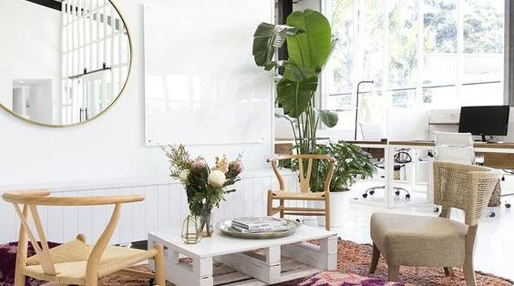 Jasa Desain Interior Kantor Bohemian