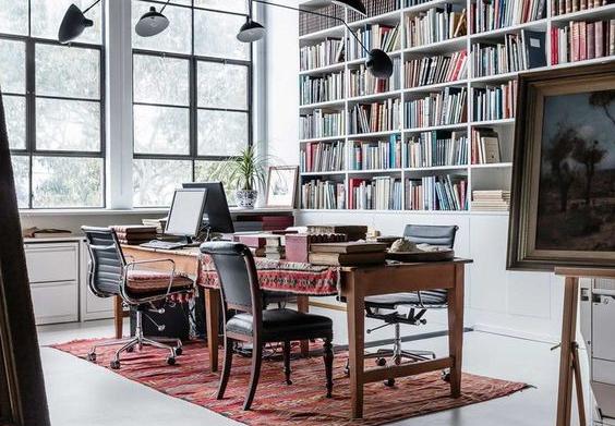 Jasa Desain Interior Kantor Vintage