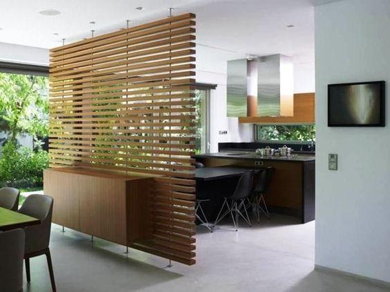 dinding partisi kayu