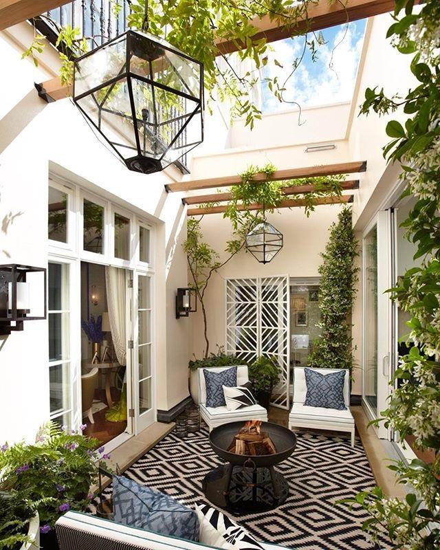 selasar rumah dekoratif