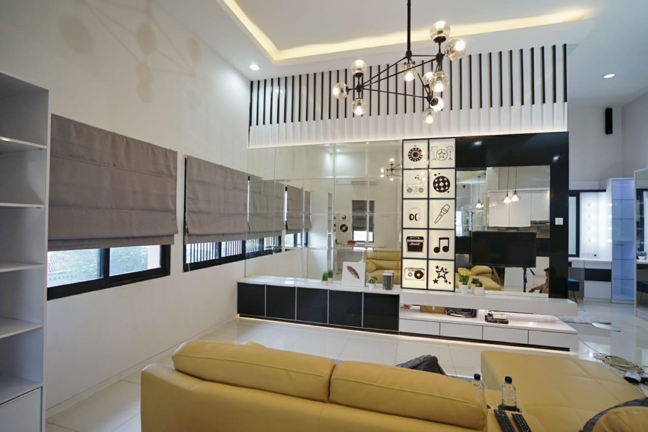 Ruko dengan konsep studio apartemen