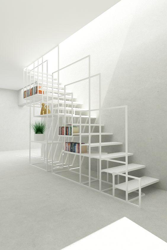 Cover memanfaatkan ruang kosong di bawah tangga