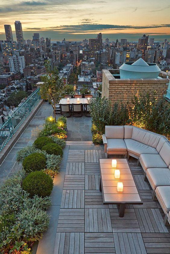 Manfaat dan Cara Membuat Roof Garden Source by creativehomedesign on Pinterest