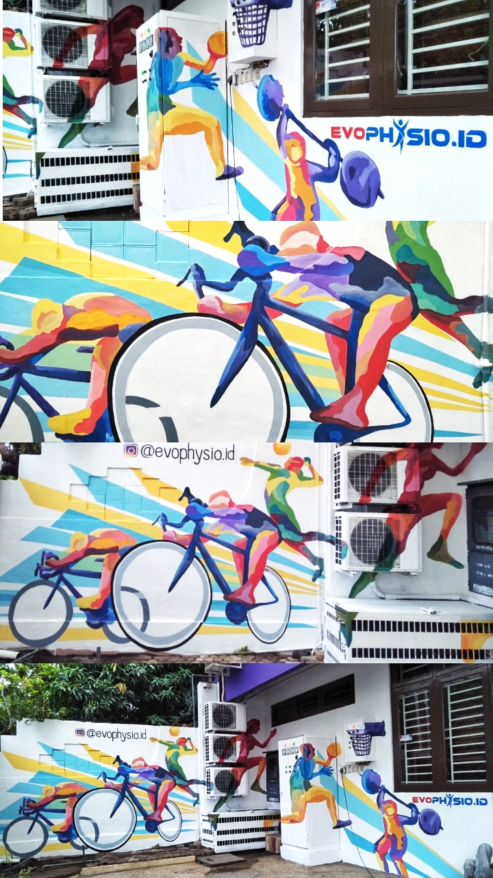 Jasa Mural Lukis Dinding