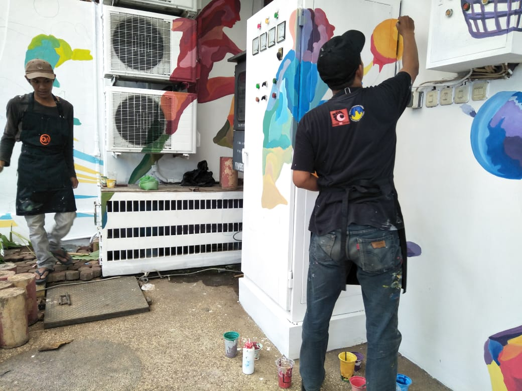 jasa desain mural