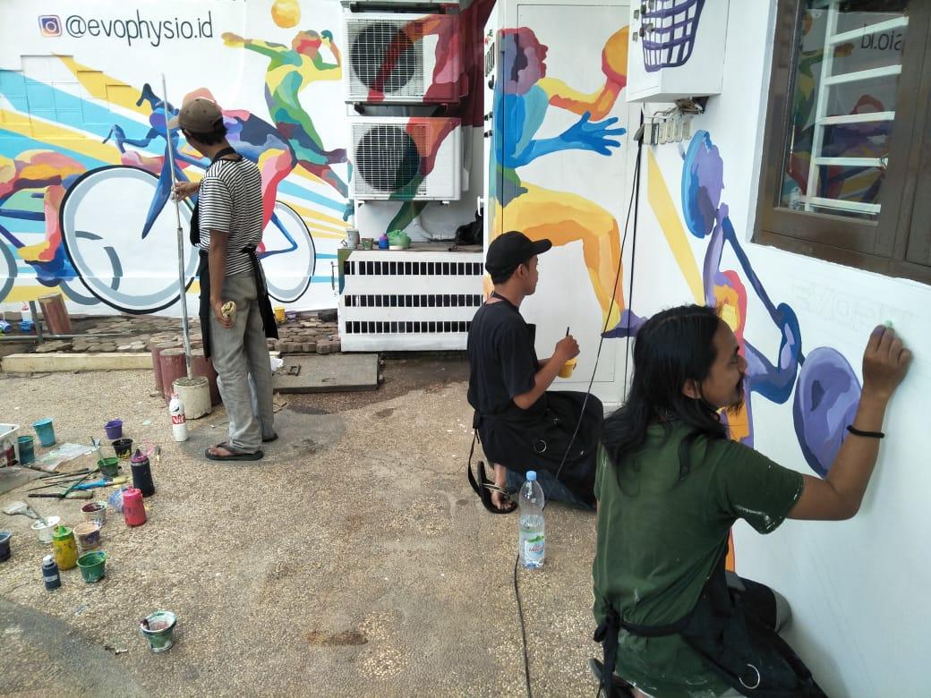 jasa lukis dinding Semarang by Omahalit