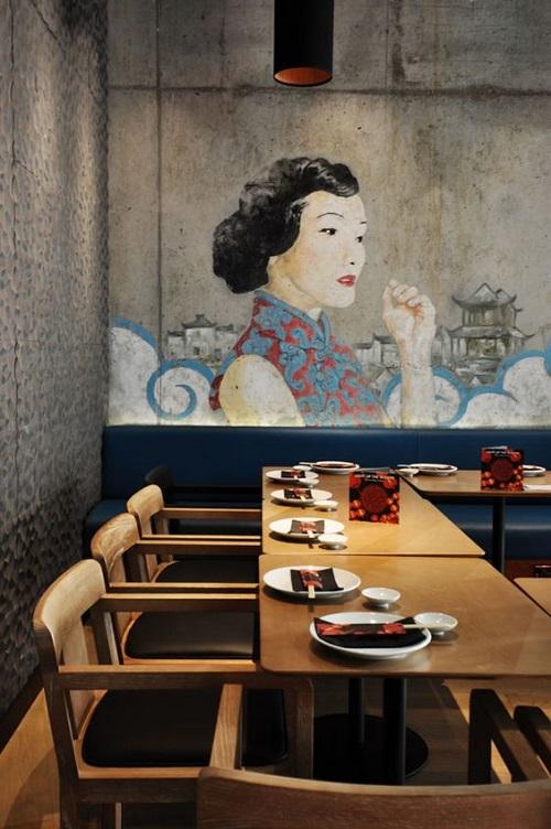 Jasa Mural Cafe Tokoh