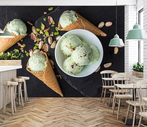 Jasa Mural Cafe 3D