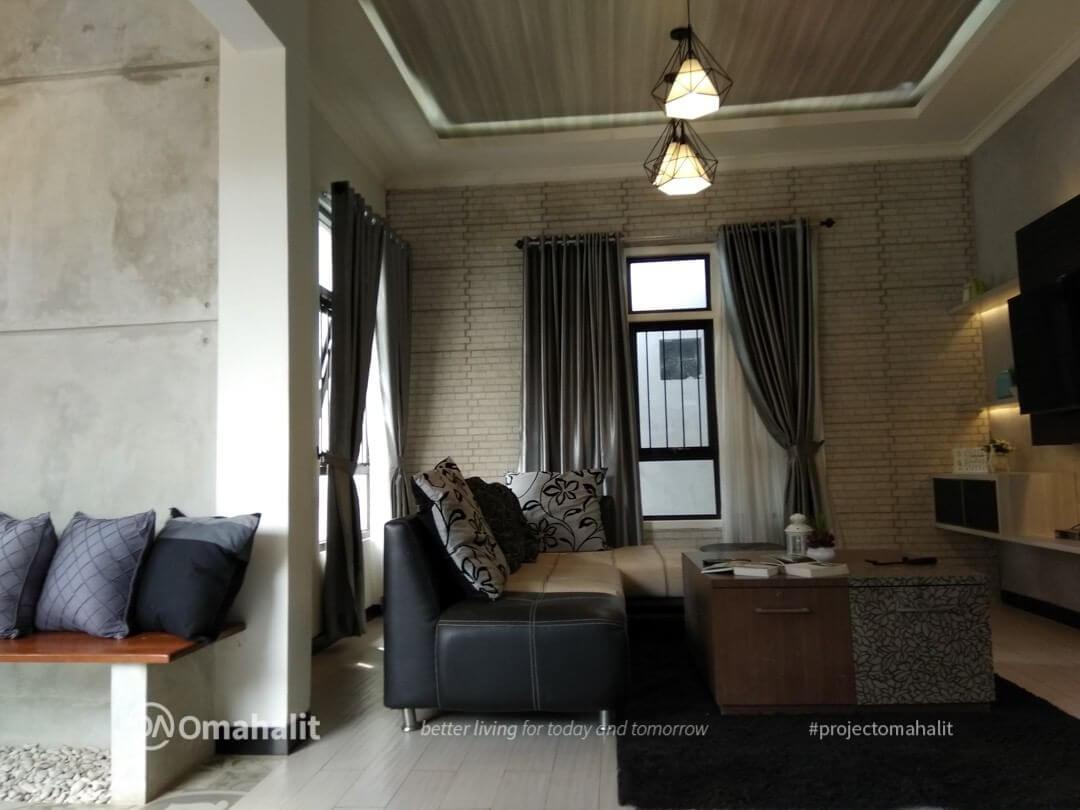 desain interior monochrome house