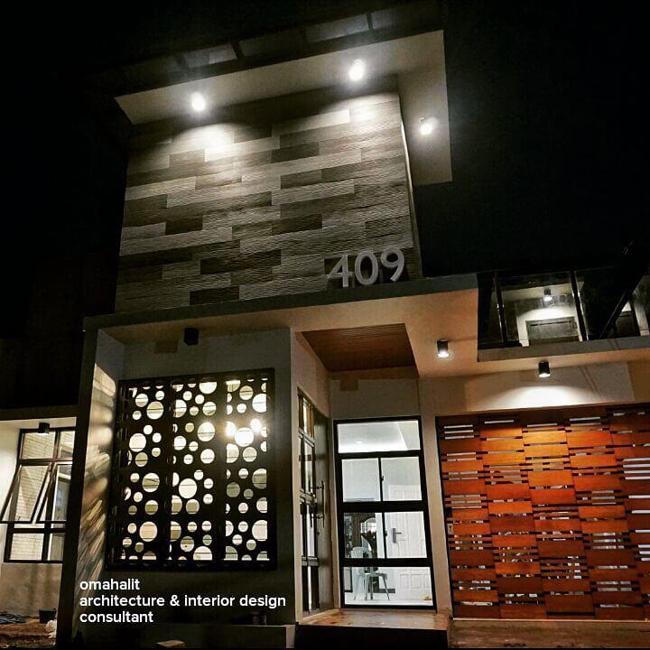 desain monochrome house