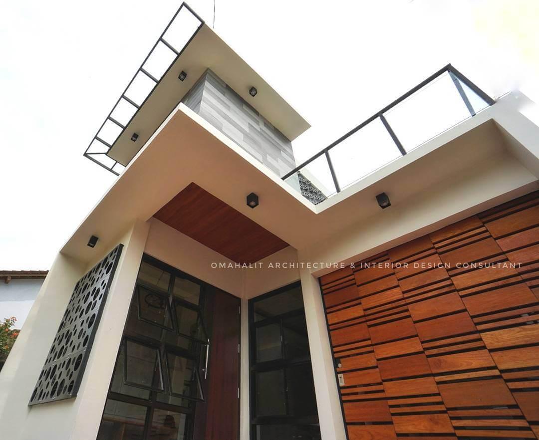 konsep monochrome house