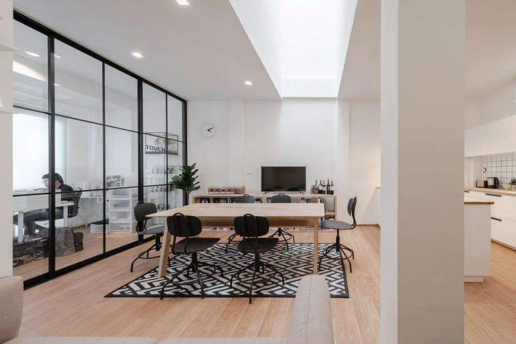 Trik Desain Rumah Kantor minimalis
