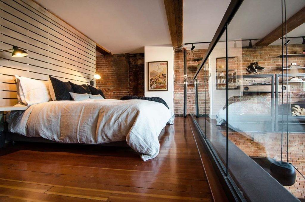 Rumah industrialis gaya ruang terbuka