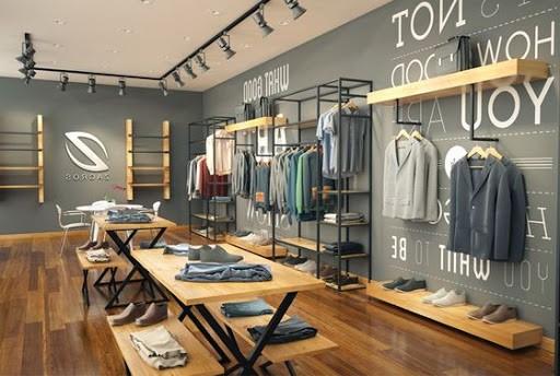 Desain interior toko baju distro