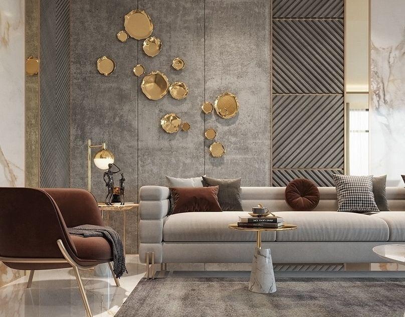 contemporary living room interior Design